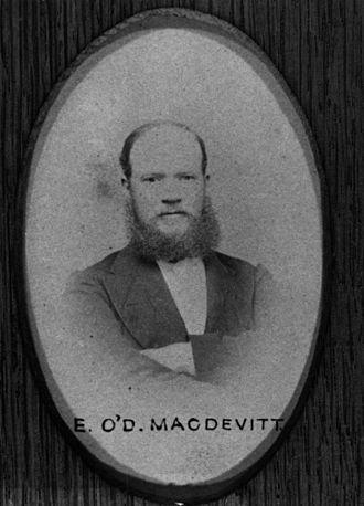 Edward MacDevitt - Edward MacDevitt 1874