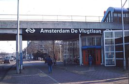 Station De Vlugtlaan in 1989