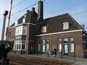 Gilze-Rijen railway station - Image: Station Gilze Rijen P1060292