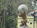 Statue of Atlas, Alipore Zoological Gardens.jpg