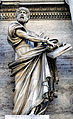 Statue of St. Peter on Porta del Popolo.jpg