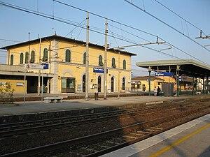 Figline Valdarno - Railway station.
