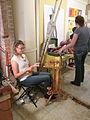 Steampunk Makers Fair Lafayette 2013 CdA Spinning.JPG
