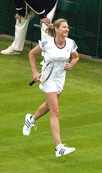Former World No. 1 German female tennis player...