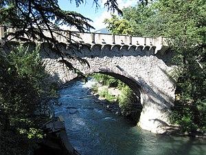 Steinerner Steg - Steinerner Steg bridge in Merano