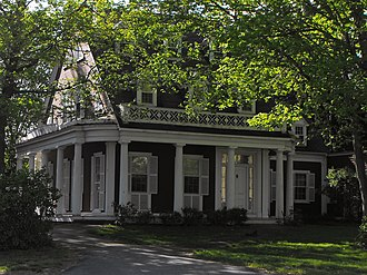 National Register of Historic Places listings in Methuen, Massachusetts - Image: Stephen Barker House