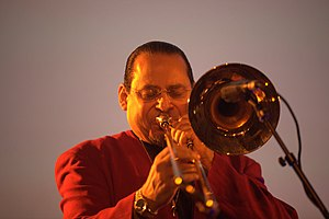 Steve Turre discography - Steve Turre performing in 2010