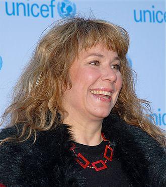 Stina Wollter - Stina Wollter at Unicefs Humorgala in 2012.