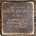 Stolperstein Konrad Behrendt Hussitenstraße 7 0122.JPG