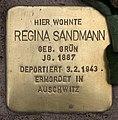 Stolperstein Pariser Str 11 (Wilmd) Regina Sandmann.jpg