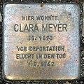 Stolperstein Sächsische Str 6 (Wilmd) Clara Meyer.jpg