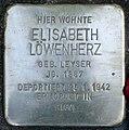 Stolperstein Stierstr 4 (Friedn) Elisabeth Löwenherz.jpg