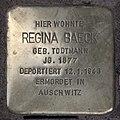 Stolperstein Westfälische Str 28 (Halsee) Regina Baeck.jpg