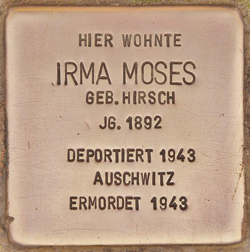Stolperstein für Irma Moses (Zehdenick).jpg