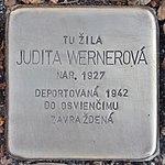 Stolperstein für Judita Wernerova (Prievidza).jpg