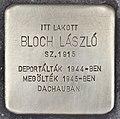 Stolperstein für Laszlo Bloch (Szeged).jpg