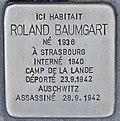 Stolperstein für Roland Baumgart (Bordeaux).jpg