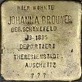 Stolpersteine Köln, Johanna Brouwer (Sülzburgstraße 3).jpg