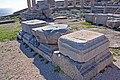 Stone blocks on the acropolis of Lindos 2010 2.jpg