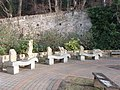 Stone carved seats, Barnard Castle - geograph.org.uk - 1128516.jpg