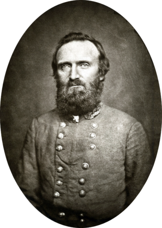 Stonewall Jackson - General Jackson photographed at Winchester, Virginia 1862