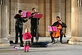 Street musicians in Paris, October 11, 2008.jpg