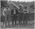 Strikers at the Burlington Railroad shop yards. Plattsmouth - NARA - 283728.tif