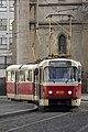 Strossmayerovo náměstí, Tatra T3R.P, od Vltavské.jpg