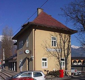 Tiroler MuseumsBahnen - Innsbruck's Stubaital station