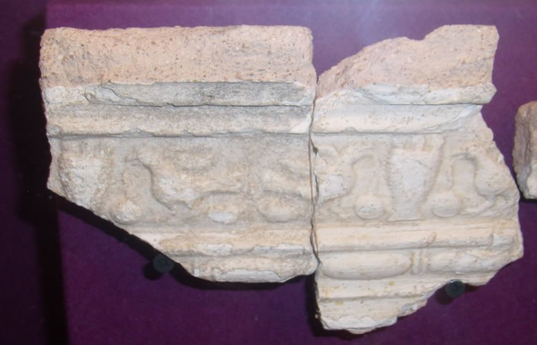 Stucco fragment fishbourne