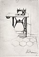 "Study for ""The Story of a Seamstress""- Sewing Machine MET sf1990.38.8.jpg"