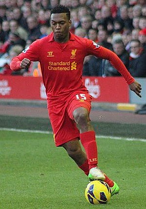 British Jamaican - Daniel Sturridge, born in Birmingham to Jamaican parents, represents both Liverpool and England
