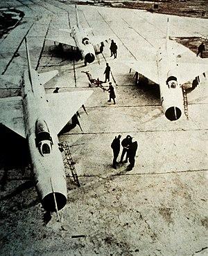 Sukhoi Su-9 - Three Su-9 aircraft