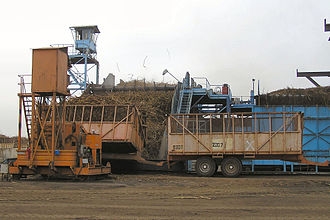 Economy of Senegal - A sugar processing plant of the Compagnie sucrière sénégalaise at Richard Toll.