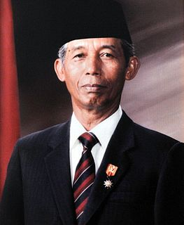 Sudharmono The fifth Vice President of the Republic of Indonesia