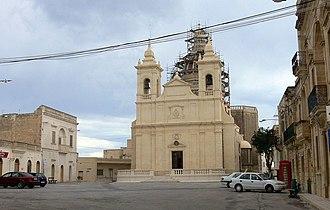 San Lawrenz - San Lawrenz parish church