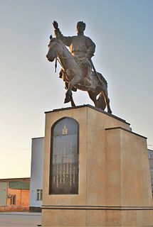 District in Sükhbaatar Province, Mongolia