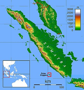 Enggano Island - Enggano Island location