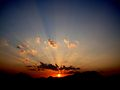 SunSet in gongivaripalli.jpg