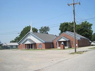 Sunset, Arkansas - Image: Sunset AR 07 Pleasant Grove Missionary Baptist Church