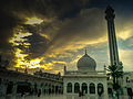 Sunset at Mausoleum of Meher Ali Shah 03.jpg