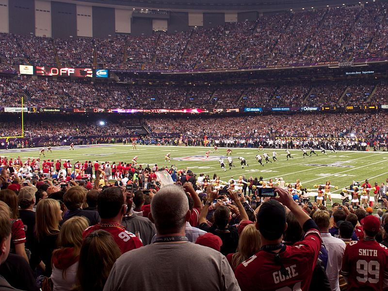 Fichier:Super Bowl XLVII Kick Off.jpg