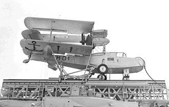 Argentine Naval Aviation - Argentine Navy Walrus MK-IV on board cruiser La Argentina, San Francisco, 1940