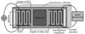 Surface Acoustic Wave Sensor Interdigitated Transducer Diagram.png