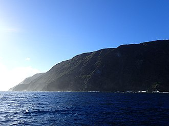 North Cape (New Zealand) - Surville Cliffs, from the North West