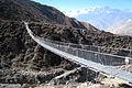 Suspension bridge, almost at Muktinath.jpg