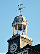 Sutton, Surrey, Greater London Thomas Wall Centre clocktower 3.JPG