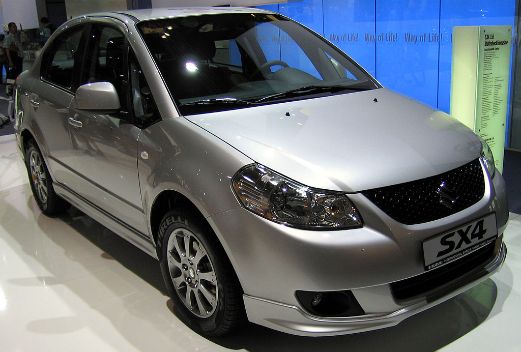 File:Suzuki SX4 Sedan.jpg - Wikimedia Commons