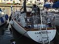 Swan 43 akterifrån Åbo gästhamn Swan Archipelago Regatta 2012.JPG
