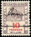 Switzerland Bern 1906 revenue 10Fr - 84B.jpg